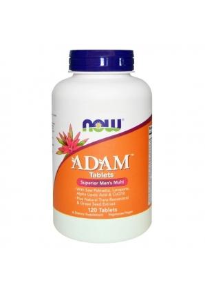 ADAM Superior Men's Multiple Vitamin 120 табл (NOW)