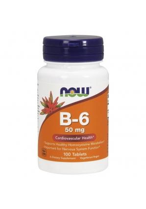 B-6 50 мг 100 табл (NOW)