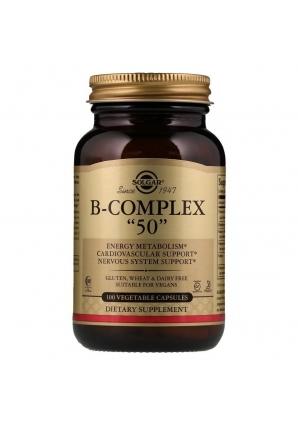 "B-Complex ""50"" 100 капс (Solgar)"