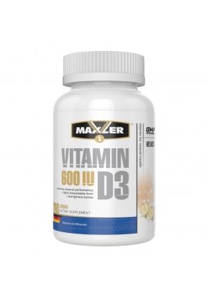 Vitamin D3 EU 240 капс (Maxler)