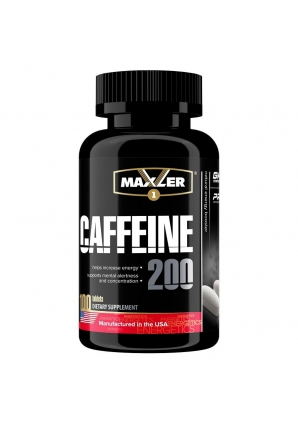 Caffeine 200 мг 100 табл (Maxler)