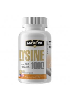 Lysine 1000 60 табл (Maxler)