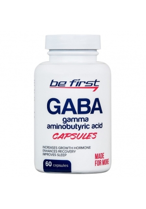 GABA Capsules 60 капс (Be First)