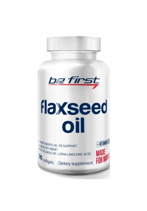 Flaxseed Oil 90 капс (Be First)