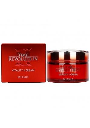 Антивозрастной крем для лица Time Revolution Vitality Cream 50 мл (Missha)