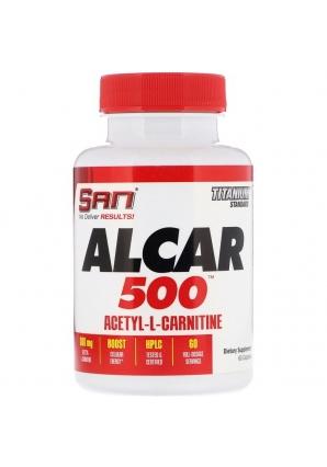 Alcar 500 Acetyl-L-Carnitine 60 капс (SAN)