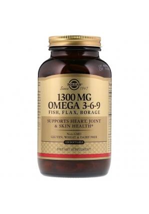 Omega 3-6-9 1300 мг 120 капс (Solgar)