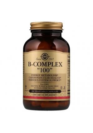 "B-Complex ""100"" 100 капс (Solgar)"