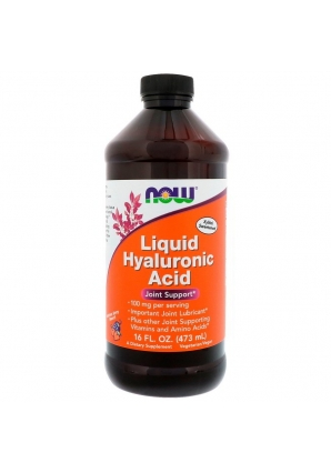 Liquid Hyaluronic Acid 100 мг 473 мл (NOW)