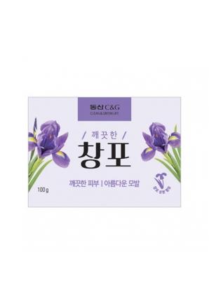 Мыло туалетное New Iris Soap 100 гр (Clio)