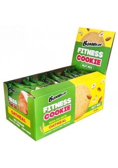 Овсяное печенье Fitness Cookie 12 шт 40 гр (BomBBar)