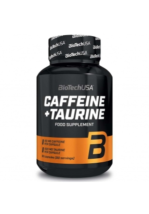 Caffeine + Taurine 60 капс (BioTechUSA)
