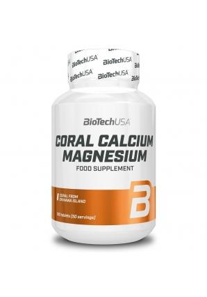 Coral Calcium Magnesium 100 табл (BioTechUSA)
