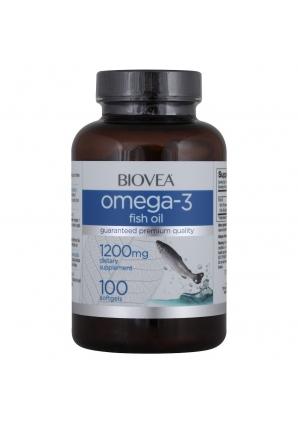 Omega-3 Fish Oil 1200 мг 100 капс (BIOVEA)