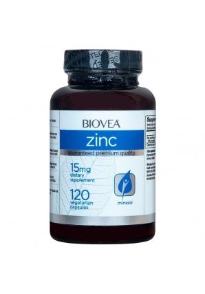 Zinc 15 мг 120 капс (BIOVEA)