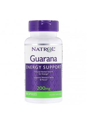Guarana 200 мг 90 капс (Natrol)