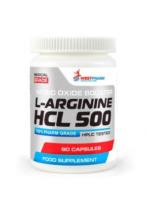 L-Arginine HCL 500 - 90 капс (WestPharm)