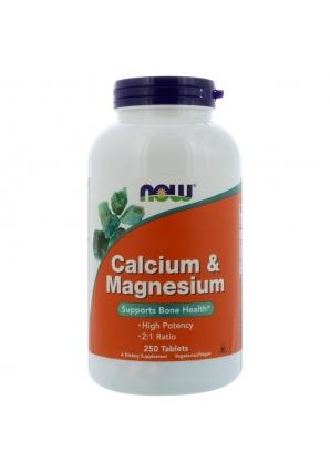 Calcium & Magnesium 250 табл (NOW)