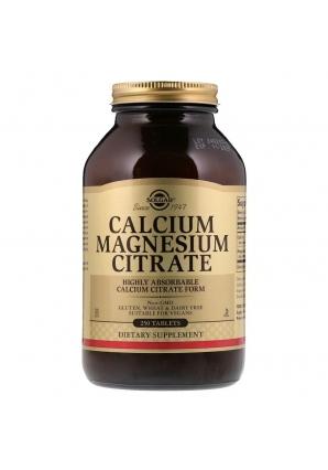 Calcium Magnesium Citrate 250 табл (Solgar)