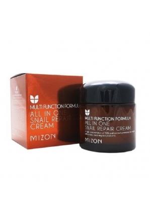 Крем для лица с экстрактом улитки All In One Snail Repair Cream 75 мл (Mizon)