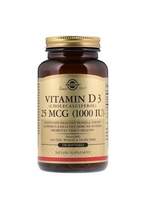 Vitamin D3 1000 МЕ 250 капс (Solgar)