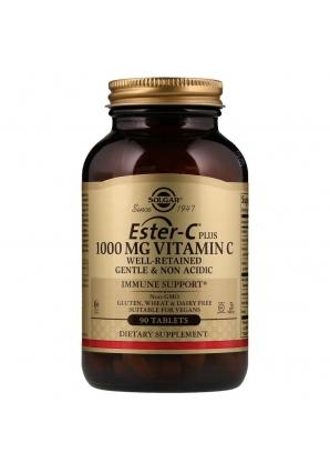Ester-C Plus Vitamin C 1000 мг 90 табл (Solgar)