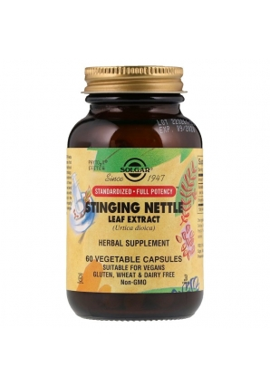 Stinging Nettle Leaf Extract 60 раст капс (Solgar)