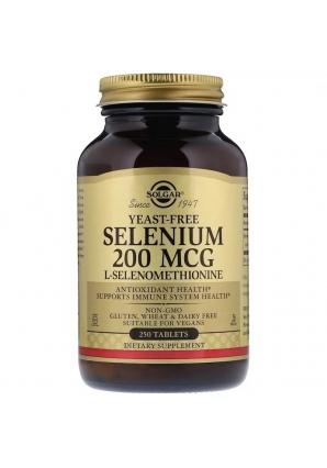 Selenium 200 мкг 250 табл (Solgar)