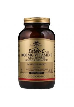 Ester-C Plus Vitamin C 1000 мг 180 табл (Solgar)