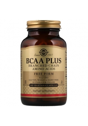 BCAA Plus Free Form 100 капс (Solgar)