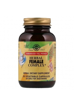 Herbal Female Complex 50 капс (Solgar)