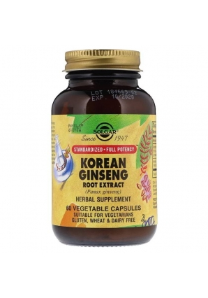 Korean Ginseng Root Extract 60 капс (Solgar)