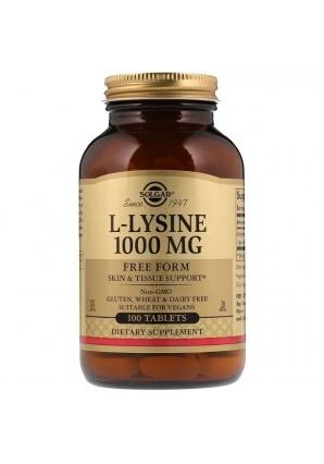 L-Lysine 1000 мг 100 табл (Solgar)
