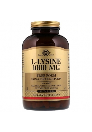 L-Lysine 1000 мг 250 табл (Solgar)