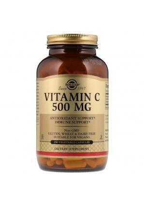 Vitamin C 500 мг 250 капс (Solgar)