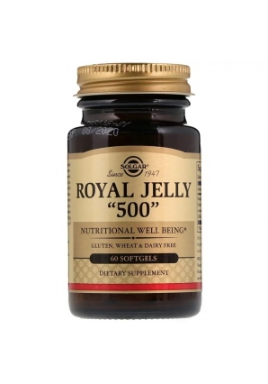 "Royal Jelly ""500"" 60 капс (Solgar)"