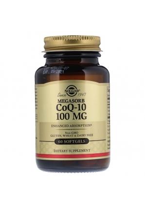 Megasorb CoQ-10 100 мг 60 капс (Solgar)