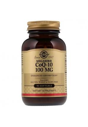 Megasorb CoQ-10 100 мг 90 капс (Solgar)