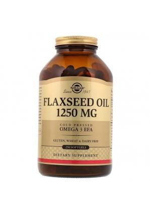 Flaxseed Oil 1250 мг 250 капс (Solgar)