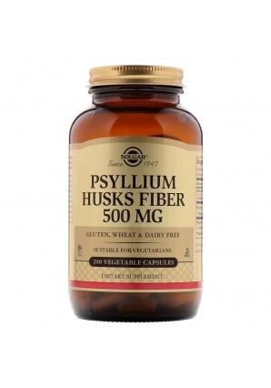 Psyllium Husks Fiber 500 мг 200 капс (Solgar)