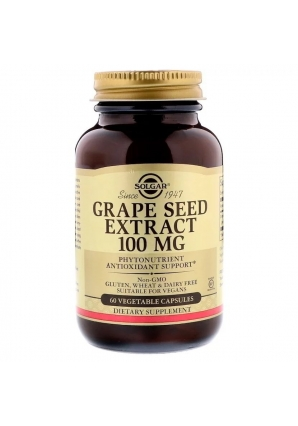 Grape Seed Extract 100 мг 60 капс (Solgar)