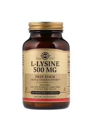 L-Lysine 500 мг 100 капс (Solgar)