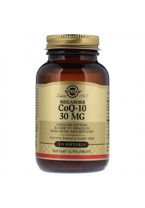 Megasorb CoQ-10 30 мг 120 капс (Solgar)