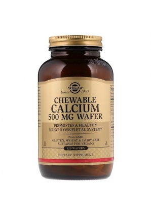 Chewable Calcium 500 мг 120 табл (Solgar)