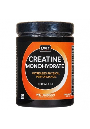 Creatine Monohydrate 100% Pure 300 гр (QNT)
