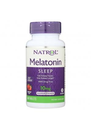 Melatonin 10 мг 60 табл (Natrol)