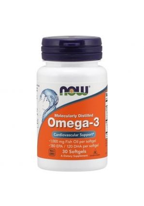 Omega-3 1400 мг 30 капс (NOW)