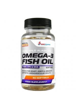 Omega-3 Fish Oil 60 капс (WestPharm)