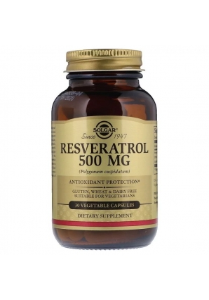 Resveratrol 500 мг 30 капс (Solgar)