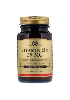 Vitamin B6 25 мг 100 табл (Solgar)